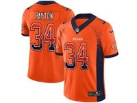 Mens Nfl Chicago Bears #34 Walter Payton Orange Drift Fashion Vapor Untouchable Limited Jersey