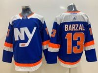 Mens Nhl New York Islanders #13 Mathew Barzal Blue Adidas Jersey