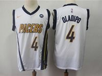 Mens 2018-19 Nba Indiana Pacers #4 Victor Oladipo White Earned Edition Nike Swingman Jersey