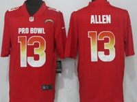 Mens Los Angeles Chargers #13 Keenan Allen Red Nike Royal Vapor Untouchable Limited Jersey