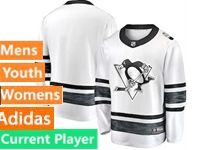 Mens Women Youth Nhl Adidas Pittsburgh Penguins White Current Player 2019 All Star Jersey