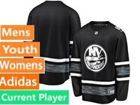 Mens Women Youth Adidas New York Islanders Black Current Player 2019 All Star Jersey