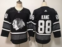 Mens Adidas Nhl Chicago Blackhawks #88 Patrick Kane Black 2019 All Star Jersey