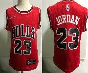 Kids Nba Nike Chicago Bulls #23 Michael Jordan Red Jersey