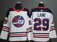 Mens Adidas Nhl Winnipeg Jets #29 Patrik Laine White Fanatics Branded Alternate Player Jersey
