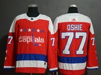 Mens Adidas Nhl Washington Capitals #77 T. J. Oshie Red Alternate Breakaway Player Jersey