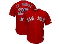 Mens Mlb Boston Red Sox #28 J.d.martinez Red 2019 Spring Training Cool Base Jersey