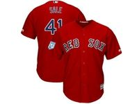 Mens Mlb Boston Red Sox #41 Chris Sale Red 2019 Spring Training Cool Base Jersey