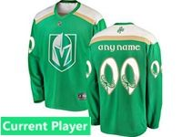 Mens Nhl Vegas Golden Knights Green 2019 St. Patrick's Day Current Player Jersey