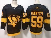 Mens Nhl Pittsburgh Penguins #59 Jake Guentzel Black 2019 Stadium Series Breakaway Player Jersey