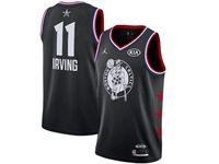Mens Nba Boston Celtics #11 Kyrie Irving Black 2019 All-star Jordan Brand Swingman Jersey