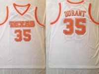 Mens Ncaa Nba Texas Longhorns #35 Durant White Jersey