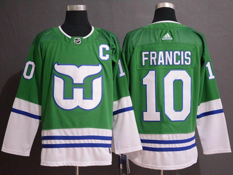 Mens Nhl Hartford Whalers #10 Francis Green Adidas Jersey