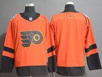 Mens Nhl Philadelphia Flyers Blank Orange 2019 Stadium Series Authentic Player Jersey