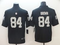 Mens Women Youth Nfl Las Vegas Raiders #84 Antonio Brown Black Vapor Untouchable Limited Player Jersey