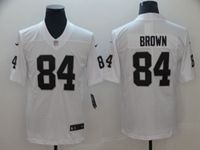 Mens Women Youth Nfl Las Vegas Raiders #84 Antonio Brown White Vapor Untouchable Limited Player Jersey
