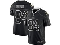 Mens Nfl Las Vegas Raiders #84 Antonio Brown Lights Out Black Vapor Untouchable Limited Jersey