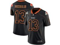 Mens Nfl Cleveland Browns #13 Odell Beckham Jr Lights Out Black Vapor Untouchable Limited Jersey