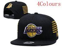 Mens Nba Los Angeles Lakers Black Hats (4 Colours)
