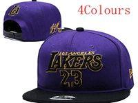 Mens Nba Los Angeles Lakers Purple Hats (4 Colours)