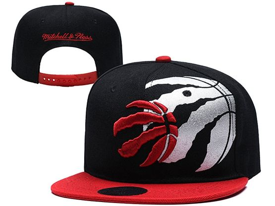 Mens Nba Toronto Raptors Black Snapback Hats
