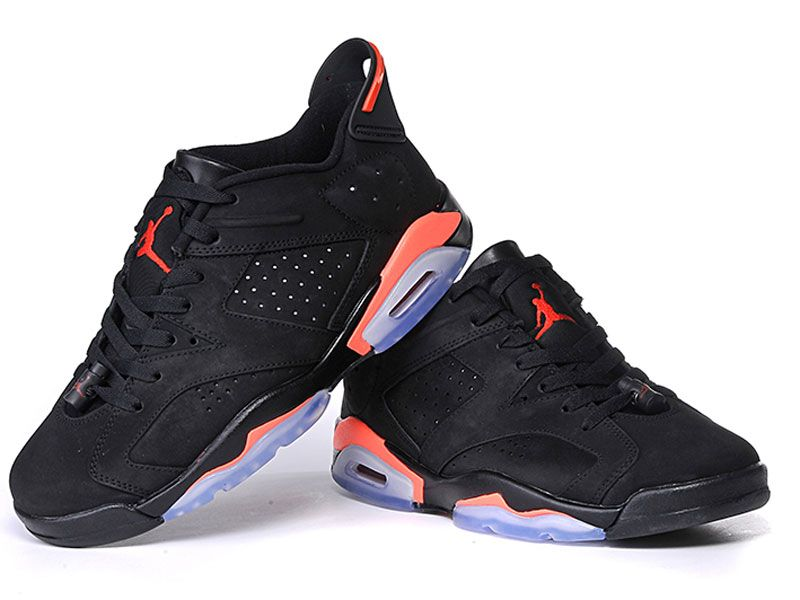 Men Nike Air Jordan 6  Basketball Shoes Colour Black
