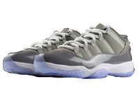 Men Nike Air Jordan 11 Basketball Shoes Gray