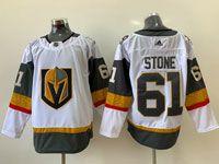 Mens Nhl Vegas Golden Knights #61 Mark Stone White Adidas Jersey