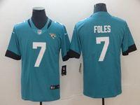 Mens Nfl Jacksonville Jaguars #7 Nick Foles Blue Vapor Untouchable Limited Jersey