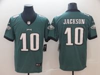Mens Women Youth Nfl Philadelphia Eagles #10 Desean Jackson Green Vapor Untouchable Limited Jersey