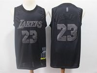 Mens Nba Los Angeles Lakers #23 Lebron James 2019 New Black Mvp Honorary Edition Jersey