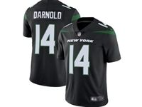 2019 Mens Women Youth Nfl New York Jets #14 Sam Darnold Black Nike Vapor Untouchable Limited Jersey