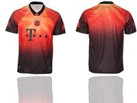 Mens 19-20 Soccer Bayern Munchen Club ( Custom Made ) Red Home Thailand Jersey