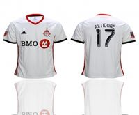 Mens 19-20 Soccer Toronto Club #17 Jozy Altidore White Away Short Sleeve Thailand Jersey