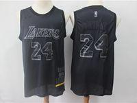 New Mens Nba Los Angeles Lakers #24 Kobe Bryant Black 2019 New Black Mvp Honorary Edition Jersey