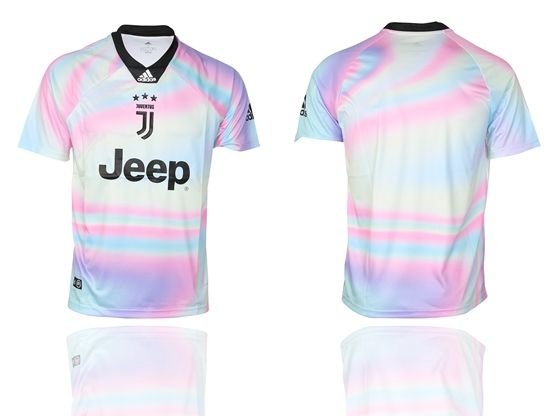 Mens 19-20 Soccer Juventus Club ( Custom Made ) White Special Edition Short Sleeve Jersey