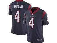 Mens Women Youth Nfl Houston Texans #4 Deshaun Watson Blue 2019 Nike Vapor Untouchable Limited Jersey