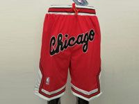 Mens Nba Chicago Bulls Chicago Red Nike Just Do Pocket Shorts
