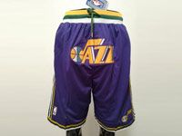 Mens Nba Utah Jazz Purple Nike Just Do Pocket Shorts