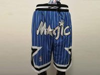 Mens Nba Orlando Magic Blue Nike Just Do Pocket Shorts