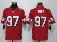 Mens Women Youth 2019 Nfl San Francisco 49ers #97 Nick Bosa Red Color Rush Vapor Untouchable Limited Player Jersey