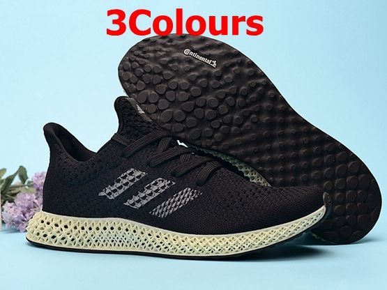 Mens Adidas 4d Running Shoes 3 Colours
