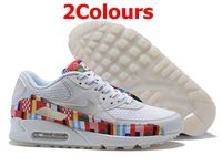 Mens And Women Nike Air Max 90 One World Running Shoes 2 Colours