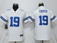 Women Nfl Dallas Cowboys #19 Amari Cooper White Vapor Untouchable Limited Jersey