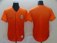 Mens Mlb San Francisco Giants Blank Orange Nike Drift Cool Base Jersey