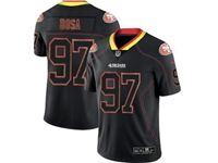 Mens 2019 Nfl San Francisco 49ers #97 Nick Bosa Lights Out Black Vapor Untouchable Limited Jersey