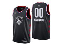 Mens Nba Brooklyn Nets Custom Made 2019 All Star Black Jersey