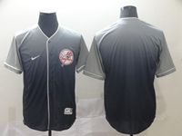 Mens New York Yankees Blank Blue Nike Drift Cool Base Jersey