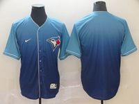 Mens Mlb Toronto Blue Jays Blank Blue Nike Drift Cool Base Jersey