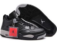 Mens And Women Air Jordan 4 Retro Ls Oreo Aj4 Basketball Lovers Shoes 1 Colour